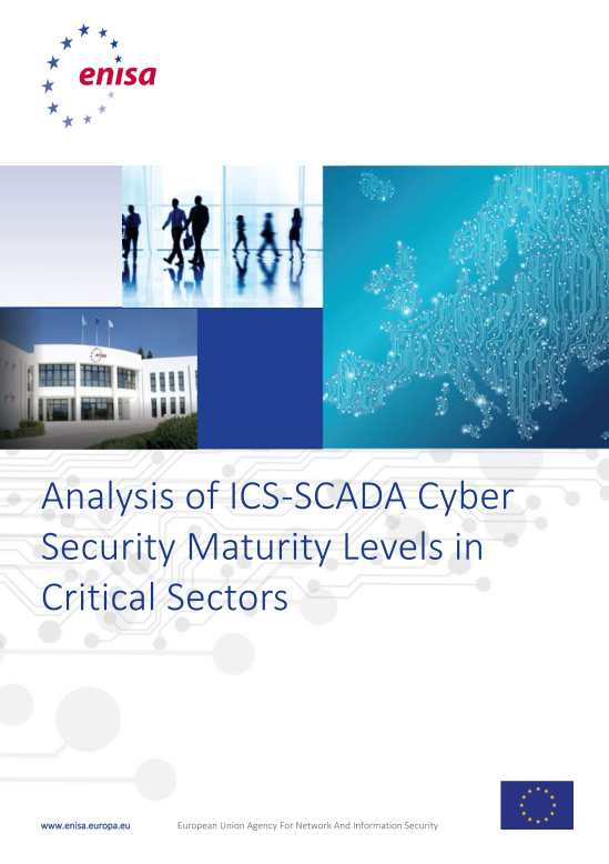 2015 Dec ENISA - ICS-SCADA CyberSecurity Maturity Models for Critical Sectors