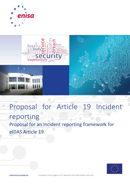 2015 Dec ENISA - Technical Guideline for Incident reporting
