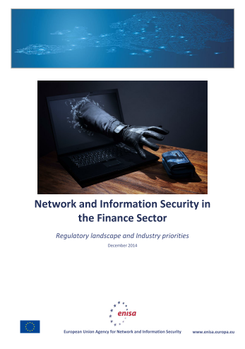 2015 Jan ENISA - Network and Information Security in the Finance Sector