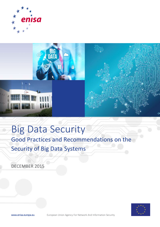 2016 May ENISA - Big Data Security