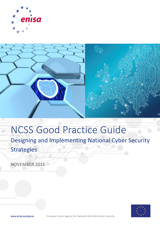 2016 Nov ENISA - Updated Good Practice Guide on NCSS