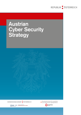 Cyber Security Strategy-Austrian 2013
