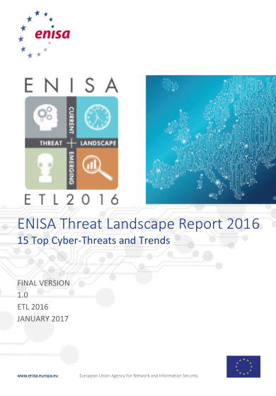 ENISA-Annual Threat Landscape Report