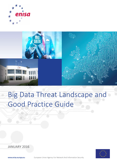 ENISA-Big Data Threat Landscape