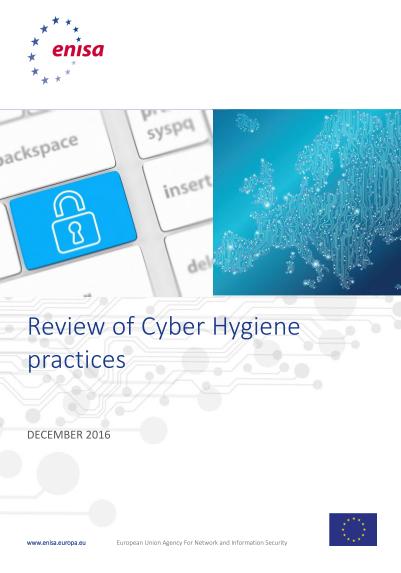 ENISA-Cyber Hygiene
