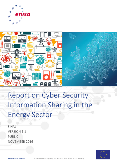 ENISA-Cyber Security Information Sharing in Energy Sector v1-1