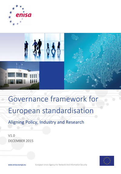 ENISA-Governance Framework for European Standardization
