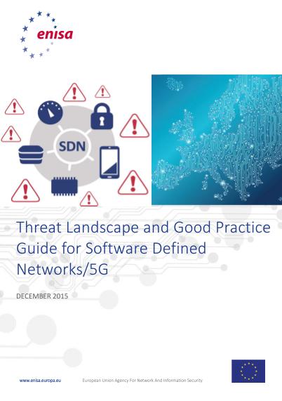 ENISA-SDN Threat Landscape