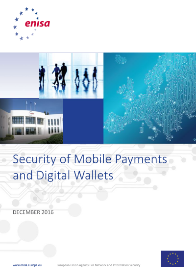 ENISA-Security of Mobile Payments and Digital Wallets