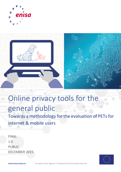 ENISA-online privacy tools for the general public