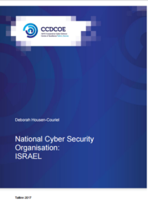 ISRAEL-National CyberSecurity Organization-2017 May