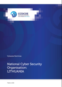 LITHUANIA-National CyberSecurity Organization-2015 Sept