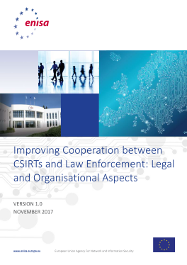 2017 Dec ENISA - Improving Cooperation between CSIRTs