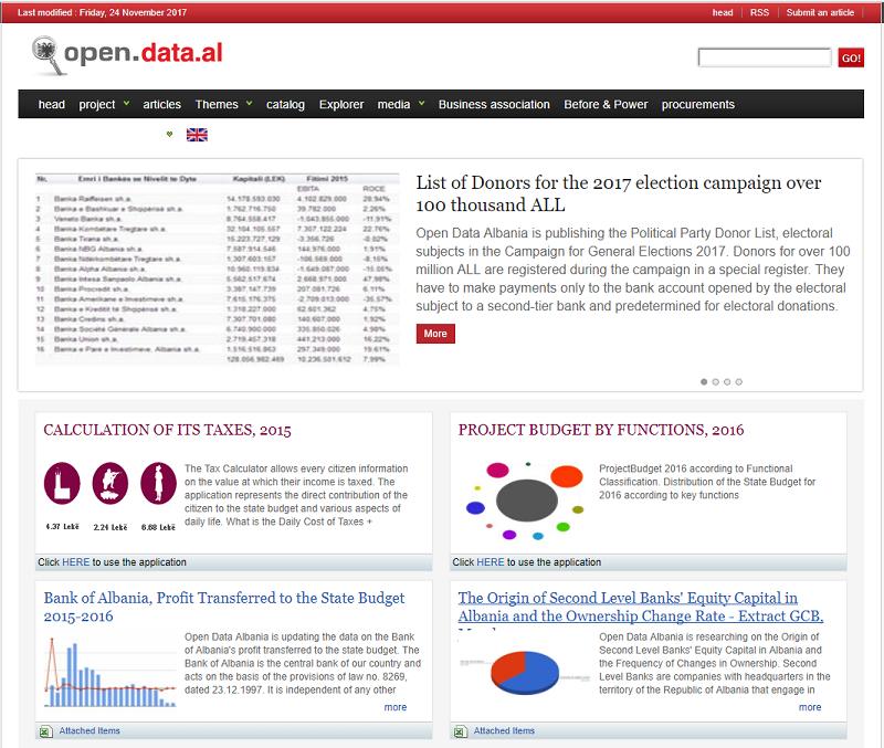 Albania Open Data Portal