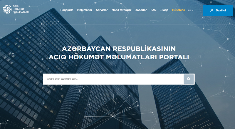 Azerbaijan Open Data Portal