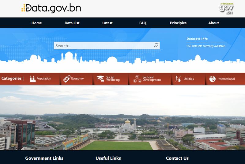 Brunei Open Data Portal
