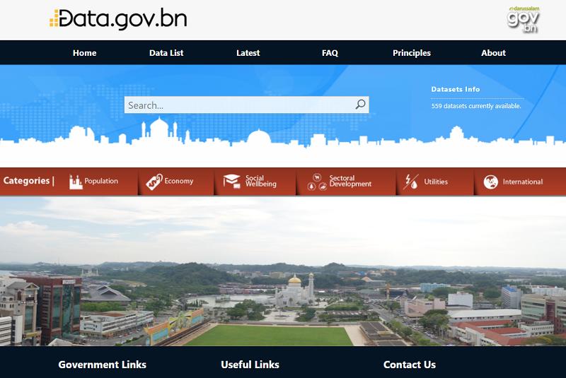 Brunei Open Data Portal
