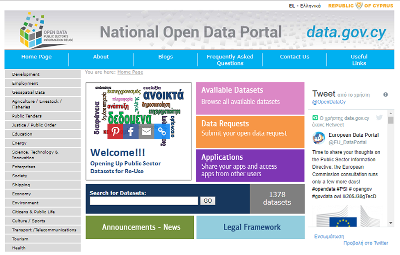 Cyprus Open Data Portal