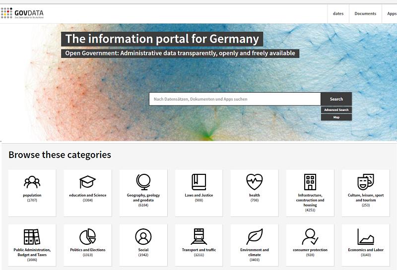 Germany Open Data Portal