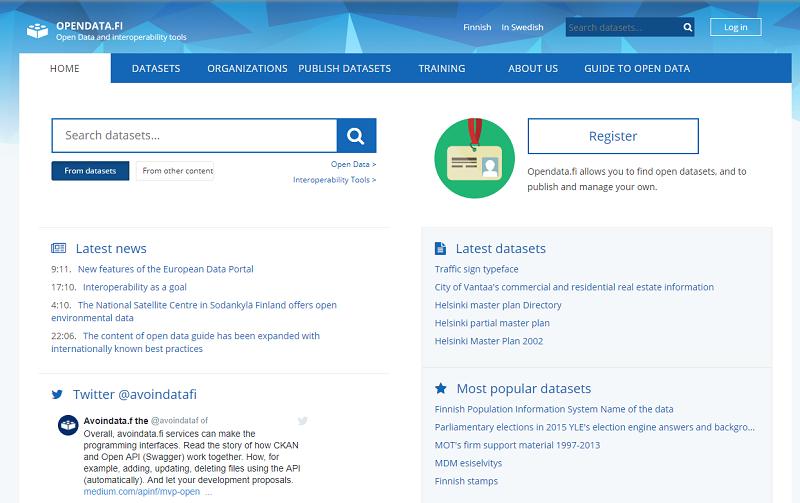 Finland Open Data Portal