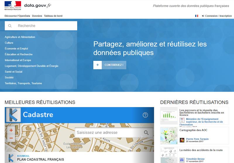 France Open Data Portal