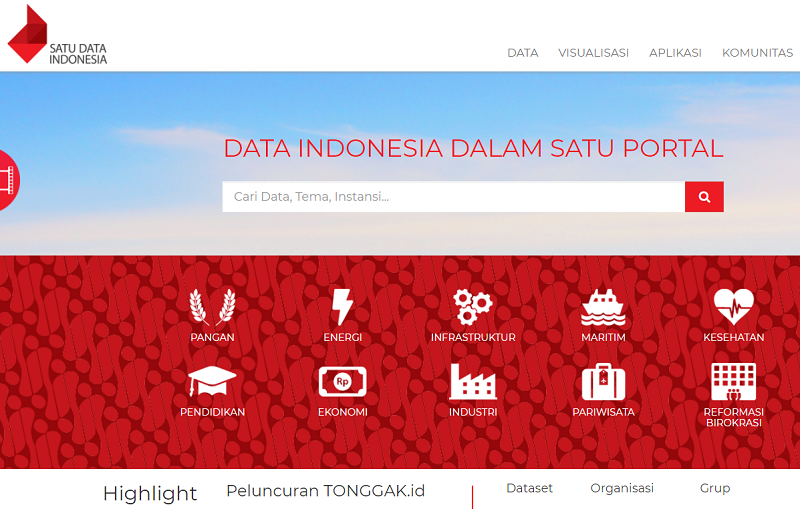 Indonesia Open Data Portal