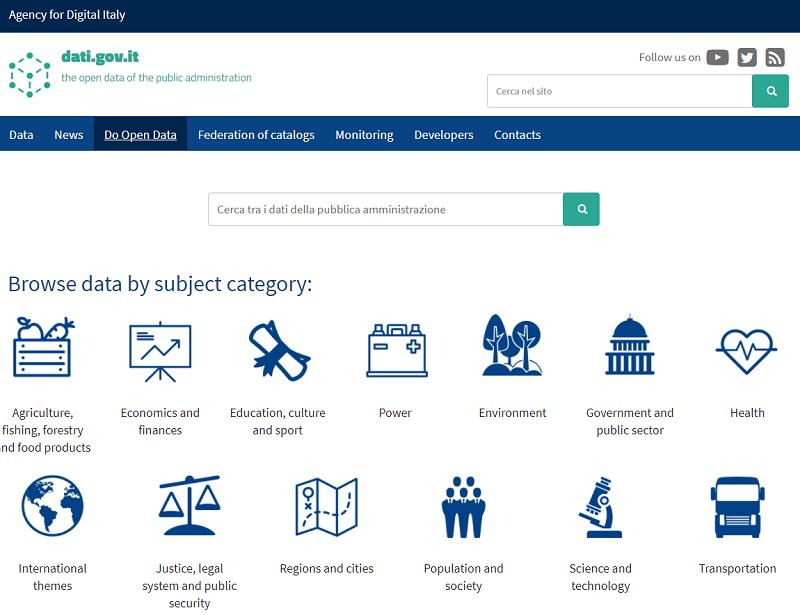 Italy Open Data Portal