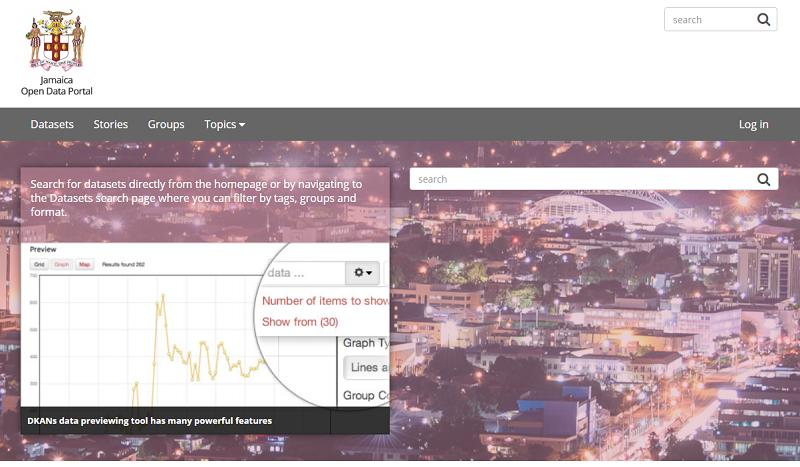 Jamaica Open Data Portal
