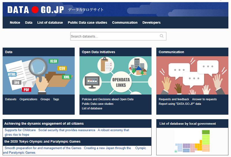 Japan Open Data Portal