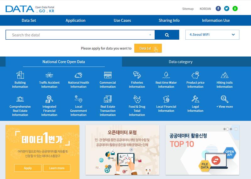 South Korean Open Data Portal
