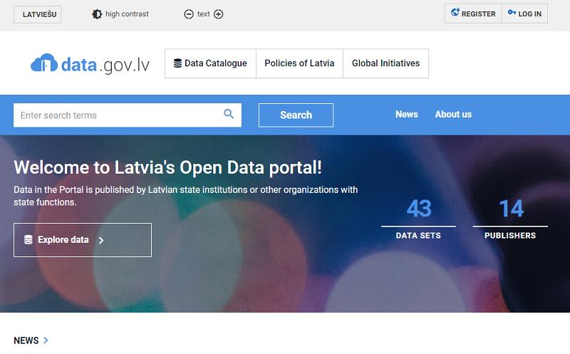 Latvia Open Data Index