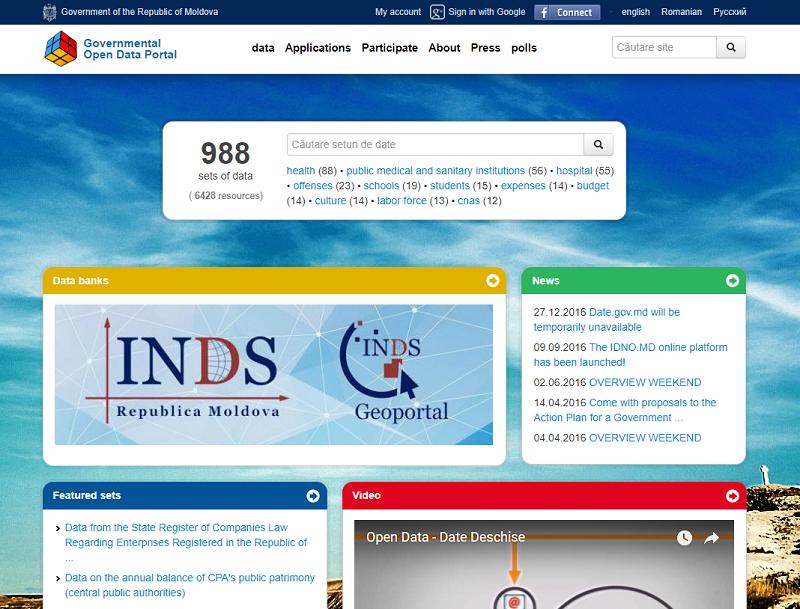 Moldova Open Data Oprtal