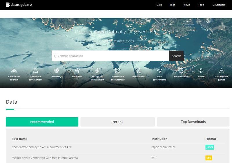 Mexico Open Data Portal