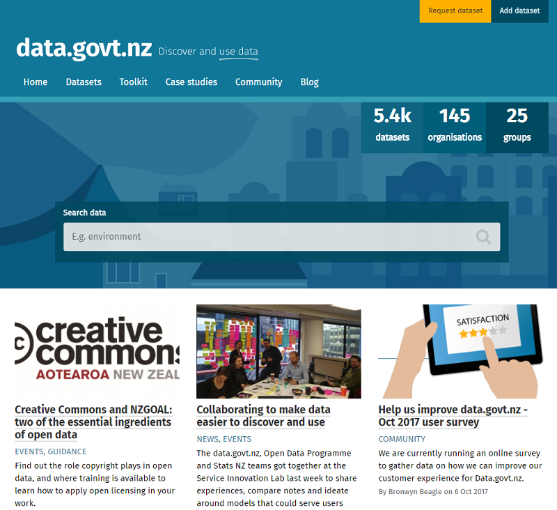 New Zealand Open Data Portal