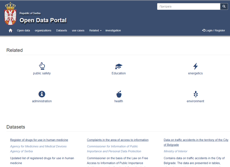 Serbia Open Data Portal