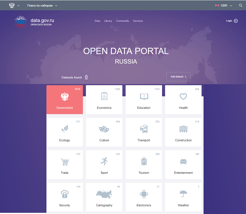 Russia Open Data Portal