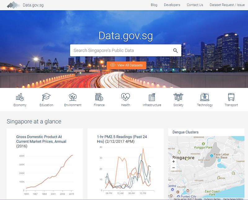 Singapore Open Data Portal