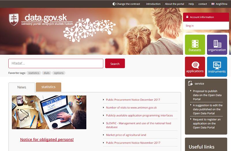 Slovakia Open Data Portal