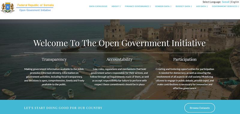 Somalia Open Data Portal