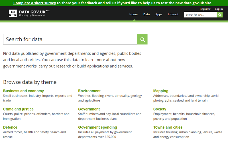 United Kingdom Open Data Portal