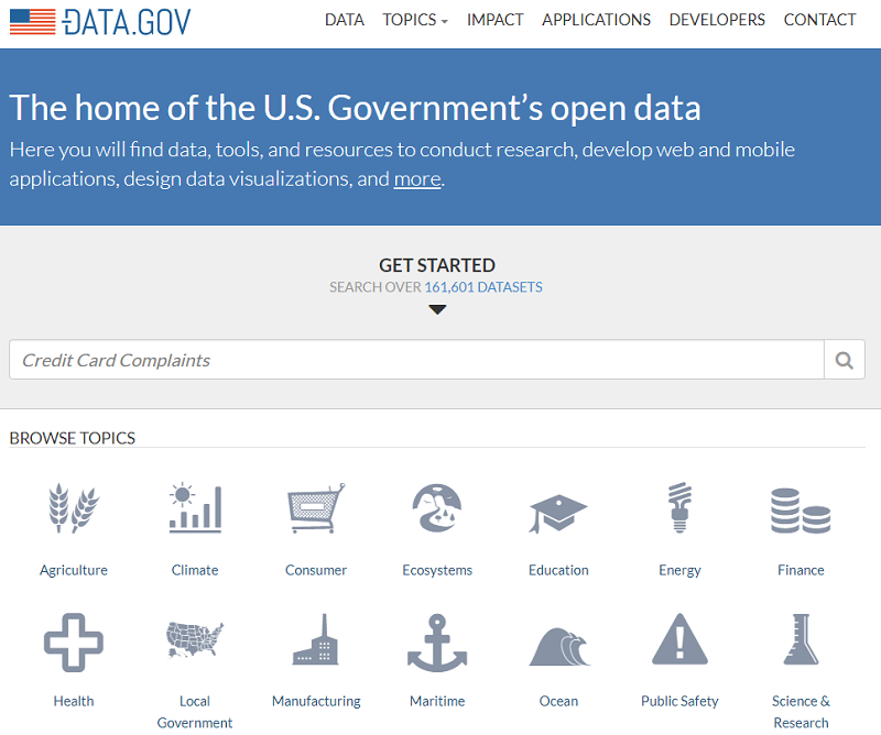 USA Open Data Portal