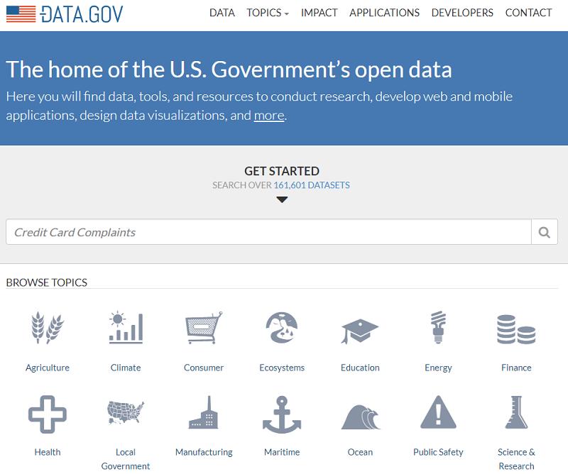 USA Open Data Portal