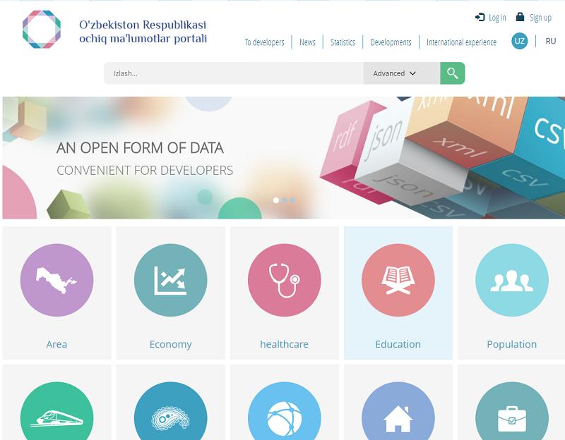 Uzbekistan Open Data Portal