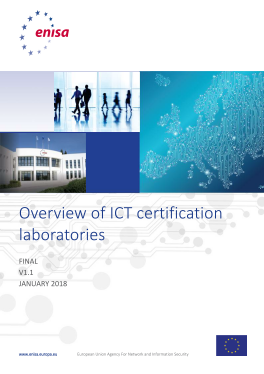 2018 Jan ENISA - Overview of the practices of ICT Certification Laboratories