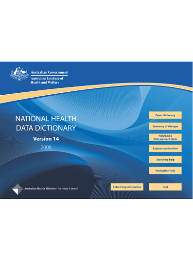 data-dictionary-Australian National Health-2b