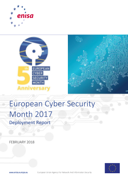 2017 Feb ENISA -European Cyber Security Month Report