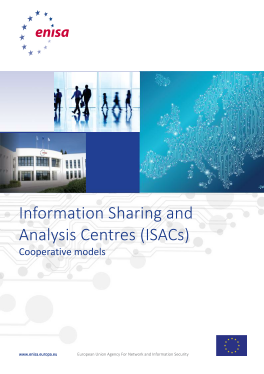 2018 Feb ENISA -Corporate Models for ISACs
