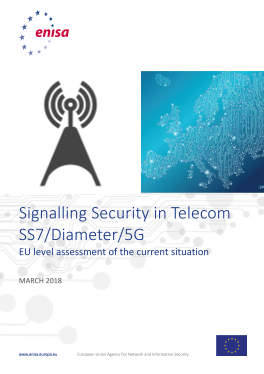 2018 March ENISA Interconnect Security SS7-Diameter