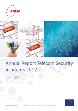 2018-Aug ENISA_Annual report Telecom security incidents 2017