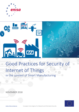 2018-Nov-ENISA_ Good practices for security of IoT
